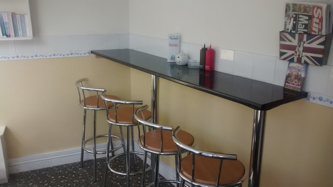 """Breakfast Bar eating area"""
